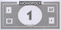 MONOPOLY -  PAQUET D'ARGENT MONOPOLY