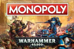 MONOPOLY -  WARHAMMER 40,000 (ANGLAIS)