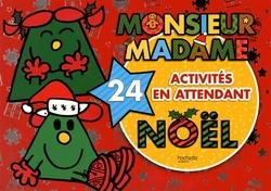 MONSIEUR MADAME -  24 ACTIVITÉS EN ATTENDANT NOËL