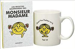 MONSIEUR MADAME -  LE MUG MME BONHEUR + LES RECETTES GOURMANDES DES MONSIEUR MADAME