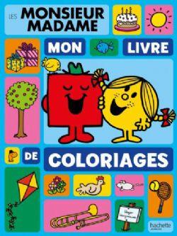 MONSIEUR MADAME -  MON LIVRE DE COLORIAGES