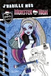 MONSTER HIGH -  ABBEY BOMINABLE -  J'HABILLE MES MONSTER HIGH