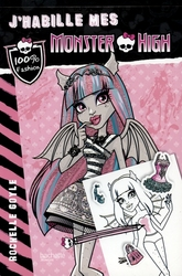 MONSTER HIGH -  ROCHELLE GOYLE -  J'HABILLE MES MONSTER HIGH