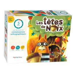 MONT-À-MOTS -  LES TÊTES DE NOIX (FRANÇAIS)