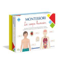 MONTESSORI -  LE CORPS HUMAIN (FRANÇAIS)