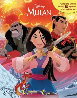 MULAN -  COMPTINES ET FIGURINES -  PRINCESSES DISNEY