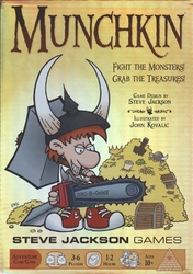 MUNCHKIN -  BASE GAME (ANGLAIS)