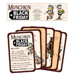 MUNCHKIN -  BLACK FRIDAY - PAQUET SIMPLE (ANGLAIS)