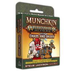 MUNCHKIN -  CHAOS AND ORDER (ANGLAIS) -  WARHAMMER : AGE OF SIGMAR