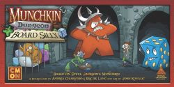 MUNCHKIN DUNGEON -  BOARD SILLY (ANGLAIS)