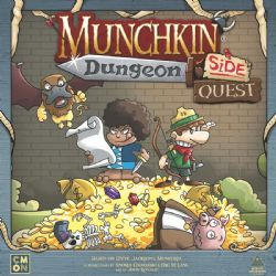 MUNCHKIN DUNGEON -  SIDE QUEST (ANGLAIS)