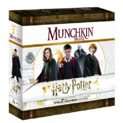 MUNCHKIN -  HARRY POTTER DELUXE (ANGLAIS)
