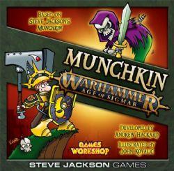 MUNCHKIN -  WARHAMMER : AGE OF SIGMAR (ANGLAIS)
