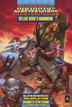 MUTANTS & MASTERMINDS -  DELUXE HERO'S HANDBOOK