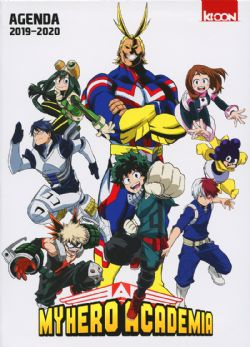 MY HERO ACADEMIA -  AGENDA EDITION 2019-2020