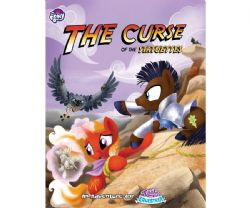 MY LITTLE PONY -  THE CURSE OF THE STATUETTES - BOOK + GM SCREEN (ANGLAIS) -  TAILS OF EQUESTRIA