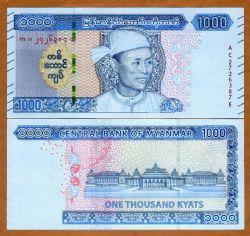 MYANMAR -  1000 KYATS 2020 (UNC)