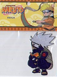 NARUTO -  ÉCUSSON ,CHIBI KAKASHI LECTURE