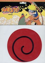 NARUTO -  ÉCUSSON ,SPIRAL ROUGE