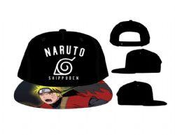 NARUTO -  CASQUETTE NOIR NARUTO SHIPPUDEN