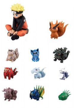 NARUTO -  G.E.M. SERIES GAIDEN - NARUTO AND NINE TAILS BEASTS (REPEAT)