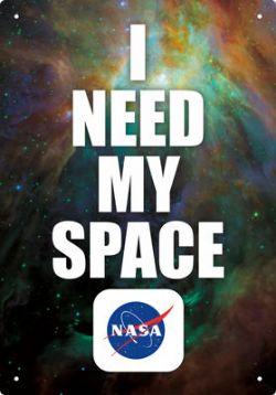 NASA -  AFFICHE MÉTALLIQUE