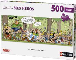 NATHAN -  VERS LE DOMAINE DES DIEUX (500 PIÈCES)