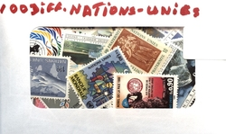 NATIONS UNIES -  100 NATIONS UNIES (NEW YORK)