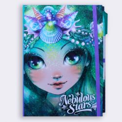 NEBULOUS STARS -  CARNET DE NOTE BLANC - MARINIA