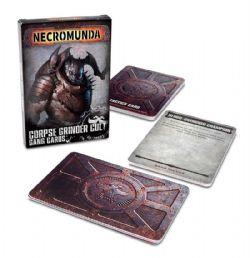 NECROMUNDA -  CORPSE GRINDER CULT GANG CARDS (ANGLAIS)