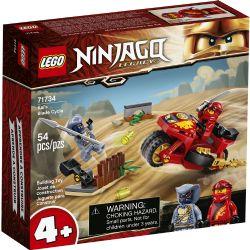 NINJAGO -  LA MOTO DE KAI (54 PIÈCES) -  LEGACY 71734