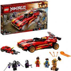 NINJAGO -  LE CHARGEUR NINJA X-1 (599 PIÈCES) -  LEGACY 71737