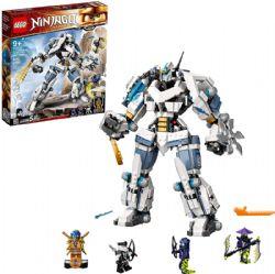 NINJAGO -  LE ROBOT DE COMBAT TITAN DE ZANE (840 PIÈCES) -  LEGACY 71738