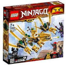NINJAGO LEGACY -  LE DRAGON D'OR (171 PIÈCES) 70666