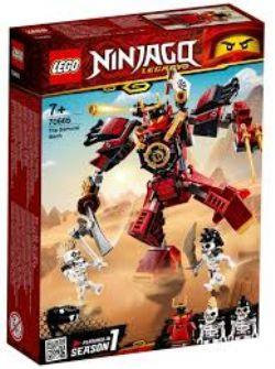 NINJAGO LEGACY -  LE ROBOT SAMURAÏ (154  PIÈCES) 70665