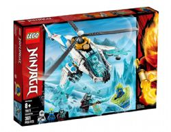 NINJAGO MASTERS OF SPINJITZU -  LE SHURICOPTÈRE (361 PIÈCES) 70673