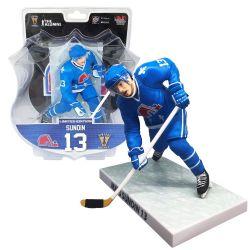 NORDIQUES DE QUÉBEC -  MATS SUNDIN #13 (15 CM) EDITION LIMITEE -  FIGURINES NHL