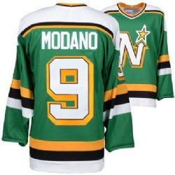NORTH STARS DU MINNESOTA -  REPLIQUE GILET VINTAGE MIKE MODANO - VERT