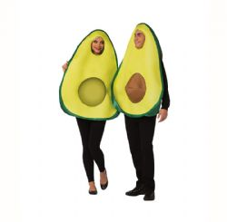 NOURRITURE -  COSTUME DE COUPLE D'AVOCAT (ADULTE - TAILLE UNIQUE)
