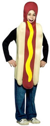 NOURRITURE -  COSTUME HOT DOG (ENFANT)