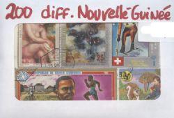 NOUVELLE-GUINÉE -  200 DIFFÉRENTS TIMBRES - NOUVELLE-GUINÉE