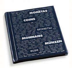 NUMIS -  ALBUM POUR 200 PIÈCES CARTONNÉES
