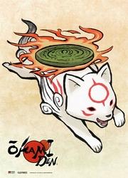 OKAMI -  -CHIBITERASU- (83.8 CM X 111.7 CM) -  OKAMI DEN
