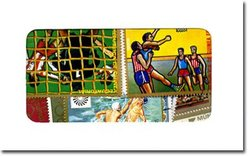 OLYMPIQUES -  50 DIFFÉRENTS TIMBRES - OLYMPIQUES