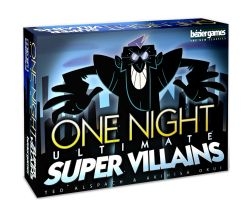 ONE NIGHT ULTIMATE -  SUPER VILLAINS (ANGLAIS)