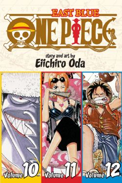 ONE PIECE -  3 IN 1 : VOLUMES 10-12 (V.A.) -  EAST BLUE 04