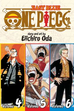 ONE PIECE -  3 IN 1 : VOLUMES 4-6 (V.A.) -  EAST BLUE 02