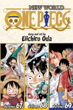 ONE PIECE -  3 IN 1 : VOLUMES 67-69 (V.A.) -  NEW WORLD 23