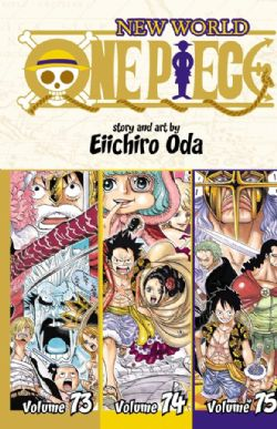 ONE PIECE -  3 IN 1 : VOLUMES 73-75 (V.A.) -  NEW WORLD 25