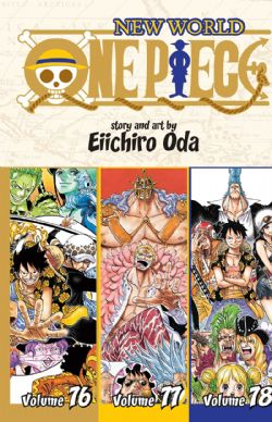 ONE PIECE -  3 IN 1 : VOLUMES 76-78 (V.A.) -  NEW WORLD 26